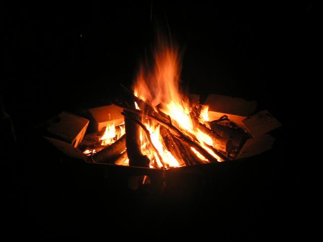 Le feu, porteur d'espoir...